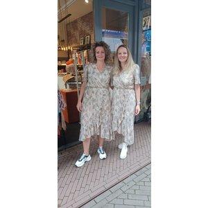 New York Brenda Dress Long  beige