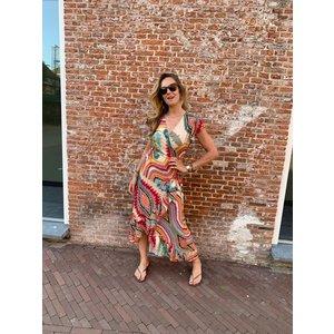 Ambika Dress long Chiara multi