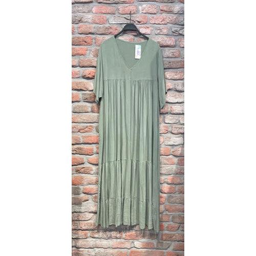 New York Dress Duna lang one size (verschillende kleuren)
