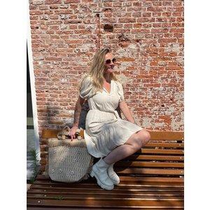 24Colours Dress 20842a beige