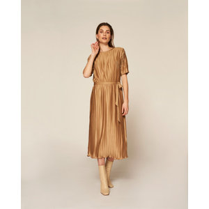 Freebird Freebird Juniper Dress PLIS-PES-21-3 beige