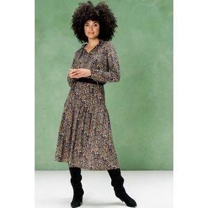 Geisha Geisha Skirt 16592-20 black/camel combi