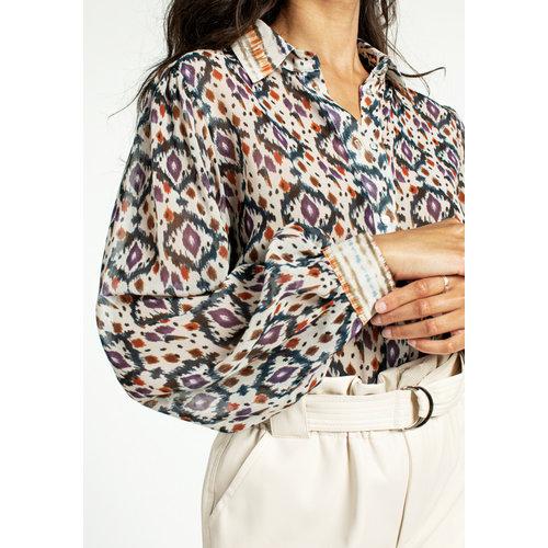 Aaiko Aaiko blouse Pillar aztec pes 516