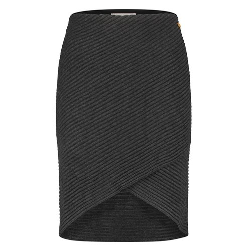 Freebird Freebird Skirt Tove vis-21-3 dark grey mel