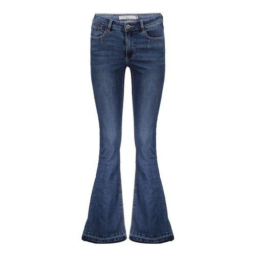 Geisha Geisha Jeans flair 11531-10 blue denim
