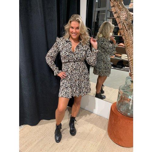 New York jurk Gigi tijgerprint