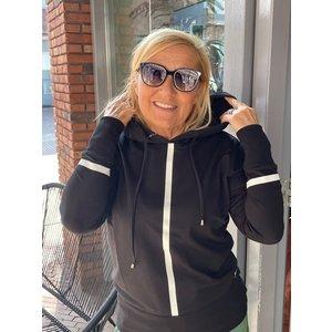 Zoso Zoso Hooded sweater techprint 215 Didi