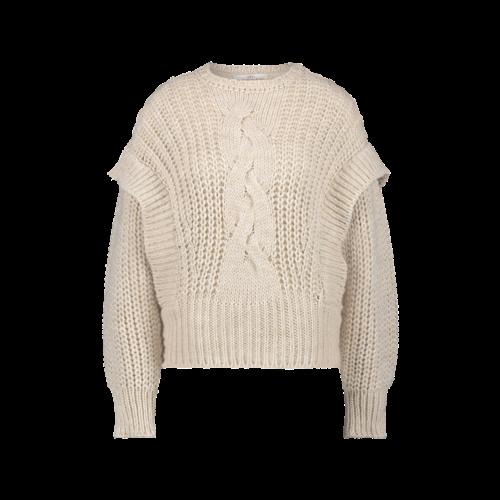 Aaiko Aaiko Sweater Bizou WP 295 sand shell
