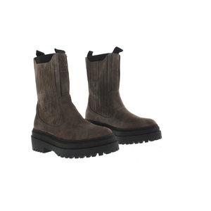 DWRS DWRS Elefante chelsea boots suede bruin