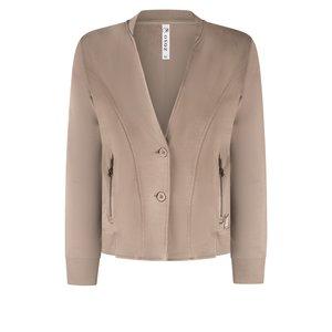 Zoso ZOSO sporty jacket with techprint 215 Ivy