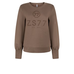 Zoso ZOSO sweater with embroderie 215Percy