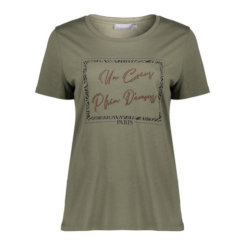 Geisha Geisha T-Shirt 12566-46 army