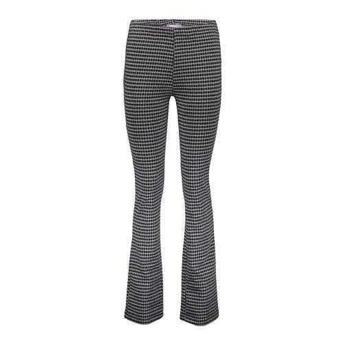 Geisha Geisha Pants check flair 11566-40 black/grey
