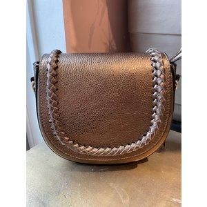 New York leather bag