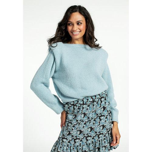 Aaiko Aaiko Sweater Mischa MOH 297 morning blue