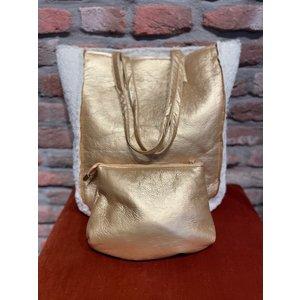 new york New York Big Bag Shiva gold
