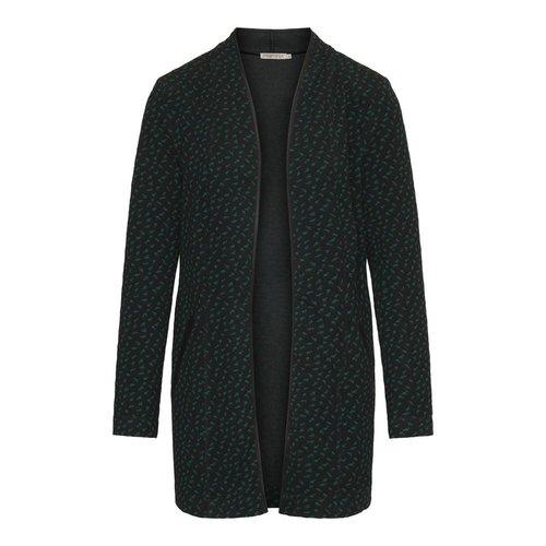 Dreamstar Dreamstar vest Fenna zwart-smaragd