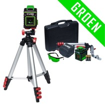 CUBE 360 Green crossline laser 360° set
