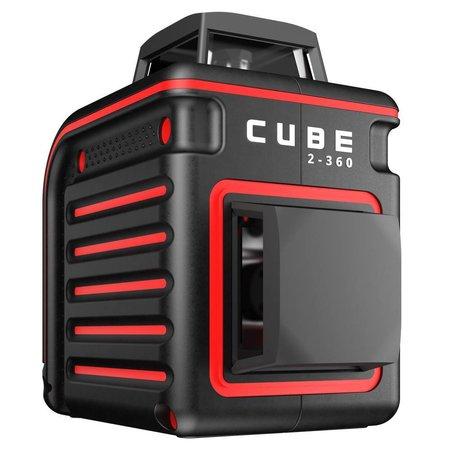 ADA  CUBE 2-360  met 2 x360° laser lijnen