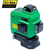 TOPLINER 3x360 °  Grüne deutliche Laserstrahlen