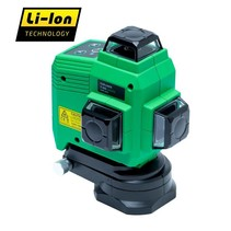 TOPLINER 3x360° very bright multicone laser Green