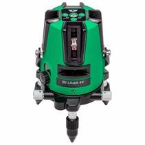 3D Liner 4V Green crossline laser with 5 mines