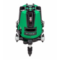 3D Liner 4V Green crossline laser with 5 mines