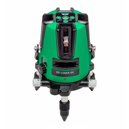 ADA  3D Liner 4V Green crossline laser with 5very bricht lines, including Li-ion Batterie and charger