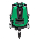ADA  3D Liner 2V Green crossline laser with 3very bricht  lines, including Li-ion batterie and charger