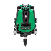 3D Liner 2V Green crossline laser with 3 lines