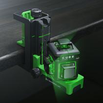 CUBE 3-360 Ultimate Set Groene Lijnlaser met 3x360° groene lijnen