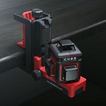CUBE 3-360 Ultimate Set rode Lijnlaser met 3x360° rode lijnen