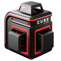CUBE 3-360 Proffessional Edition rode Lijnlaser met 3x360° rode lijnen