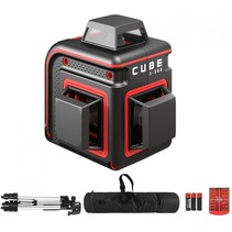 Cube  3-360 Professional Edition Rote Linienlaser with 3x360° red lines