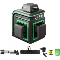 CUBE 3-360 Proffessional Edition green line laser with 3x360° green lines