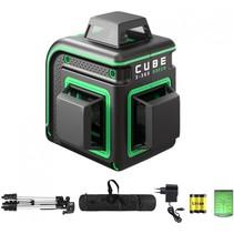 CUBE 3-360 Proffessional Edition groene Lijnlaser met 3x360° groene lijnen