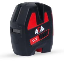 ARMO 3D kruislijnlaser met 2 verticale lijnen