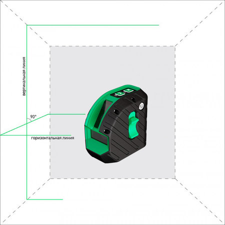 ADA  ARMO 2D Green professional Edition inclusief statief in foudraal