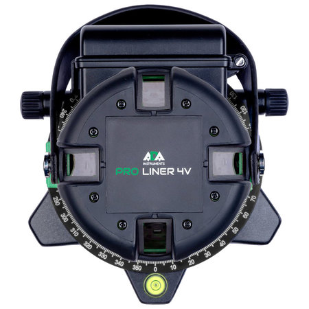 ADA  PROLiner 4V Groene  kruislijnlaser 5 -lijns Groen met 4 verticale lijnen