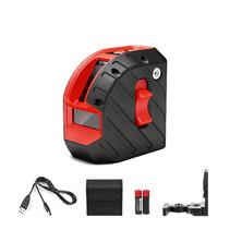 Armo 2D Home Edition, oplaadbare kruislijnlaser Rood