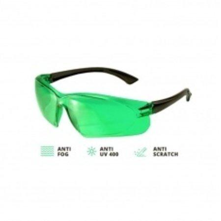 ADA  Laserbril rood voor een betere zichtbaarheid van de laserstraal.