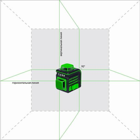 ADA  CUBE 2-360  Groen ultimate set