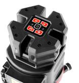 ADA  NEW: 6D SERVOLINER Rood 8-LIJNS laser met Li-ion accu