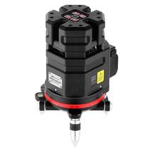 NEW: 6D SERVOLINER Rood 8-LIJNS laser met Li-ion accu
