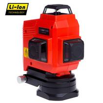 TOPLINER 3x360°  Rode heldere laserstralen,