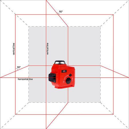 ADA  TOPLINER 3x360° rood incl. verstelbare voet