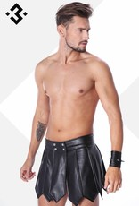 * Code8 by XXX COLLECTION Eco-Leren gladiator Rok
