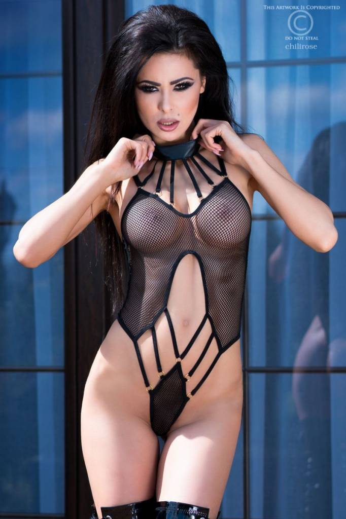 CHILIROSE Body CR4058-Zwart