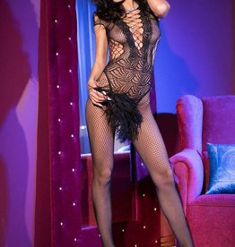 CHILIROSE Bodystocking CR4102-Zwart