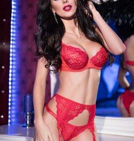 CHILIROSE Sexy rode lingerieset CR4192-R